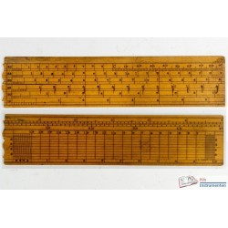 Small wooden transversal scale